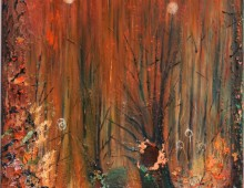 Forest Fire 70by100cm